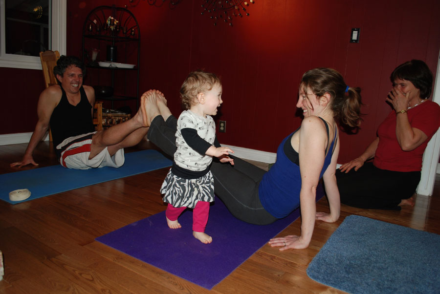 Family Yoga with Catherine Reid