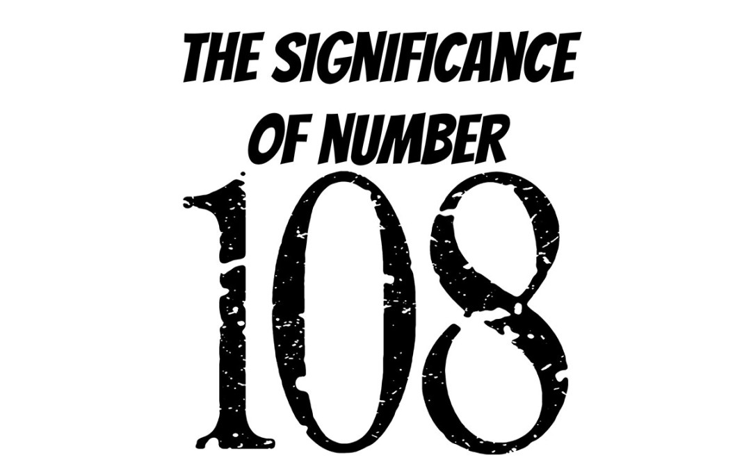 The significance of the number 108 in yoga