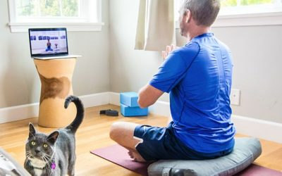 Why is it So Hard to do Yoga at Home?