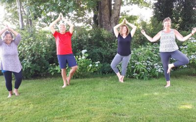 Community Benefits from Outdoor Yoga